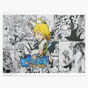 The Seven Deadly Sins - Poster Jigsaw Puzzle RB1606 product Offical The Seven Deadly Sins Merch