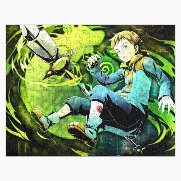 King from The Seven Deadly 4   Jigsaw Puzzle RB1606 product Offical The Seven Deadly Sins Merch
