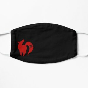 The Seven Deadly Sins Ban Fox Sin of Greed Face Flat Mask RB1606 product Offical The Seven Deadly Sins Merch