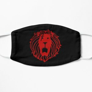 The Seven Deadly Sins Escanor Lion Sin Of Pride Centered Face Flat Mask RB1606 product Offical The Seven Deadly Sins Merch