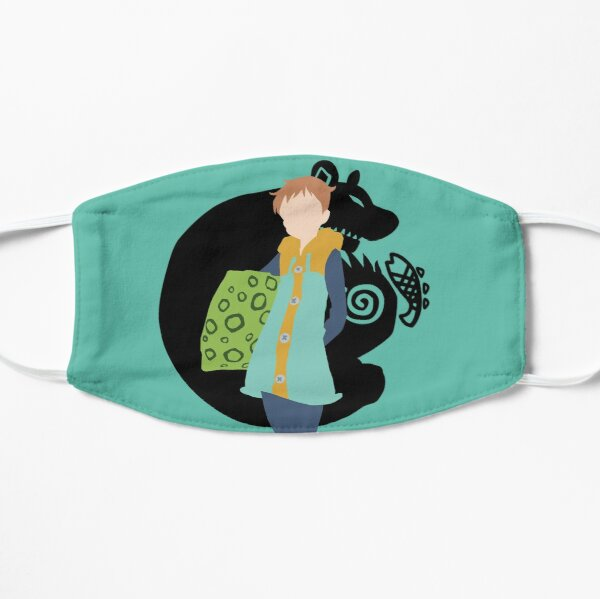 King seven deadly sins Flat Mask RB1606 product Offical The Seven Deadly Sins Merch