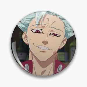 Ban - Seven Deadly Sins Pin RB1606 product Offical The Seven Deadly Sins Merch