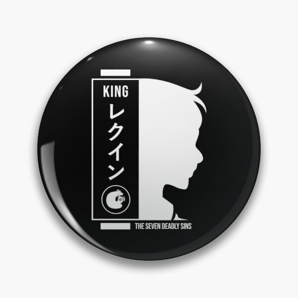 King seven deadly sins Pin RB1606 product Offical The Seven Deadly Sins Merch