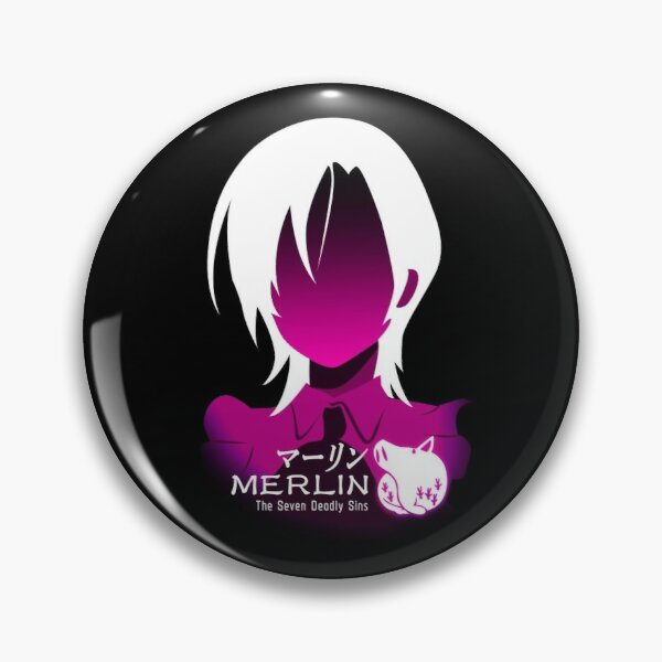 The seven deadly sins merlin Pin RB1606 product Offical The Seven Deadly Sins Merch
