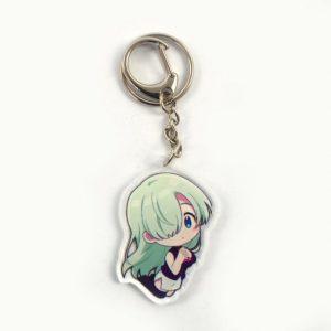 cute elizabeth seven deadly sins keychain SDM1010