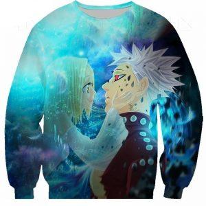 seven deadly sins ban and elaine sweatshirt SDM1010