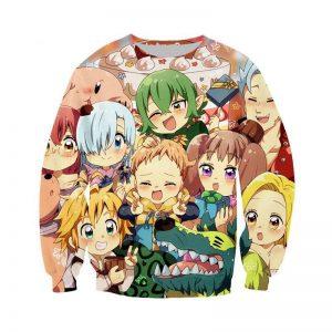 nanatsu no taizai anime sweatshirt SDM1010